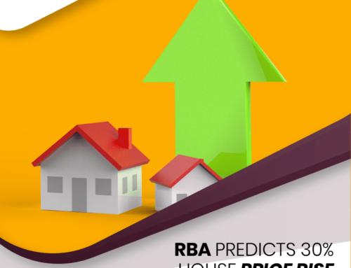 RBA Expects 30% Price Rises