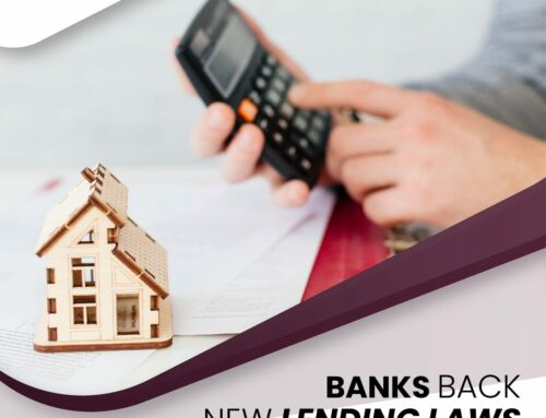 Banks Back New Lending Laws
