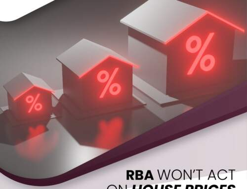 RBA Won't Act On House Prices