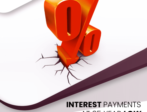 Interest Payments At 35 Year Low