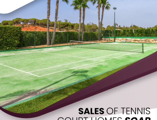 Sales Of Tennis Court Homes Soar