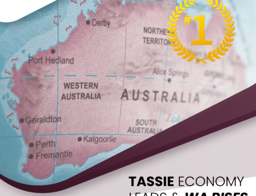 Tassie Economy Leads, WA Rises